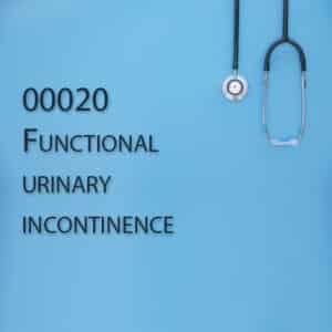 00020 Functional urinary incontinence