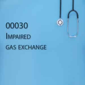 00030 Impaired gas exchange
