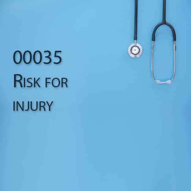 00035 Risk for injury