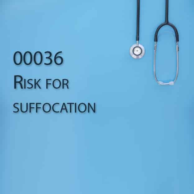 00036 Risk for suffocation