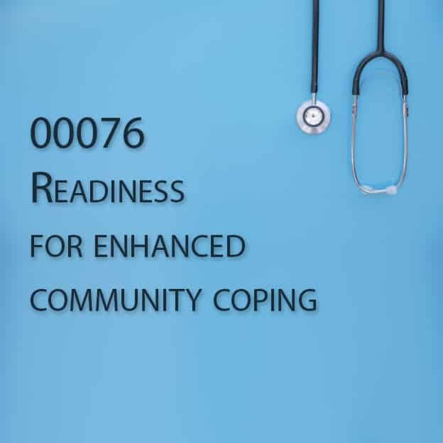 00076 Readiness for enhanced community coping