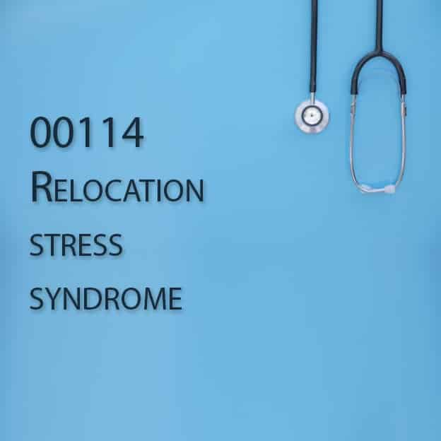 00114 Relocation stress syndrome