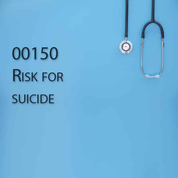 00150 Risk for suicide