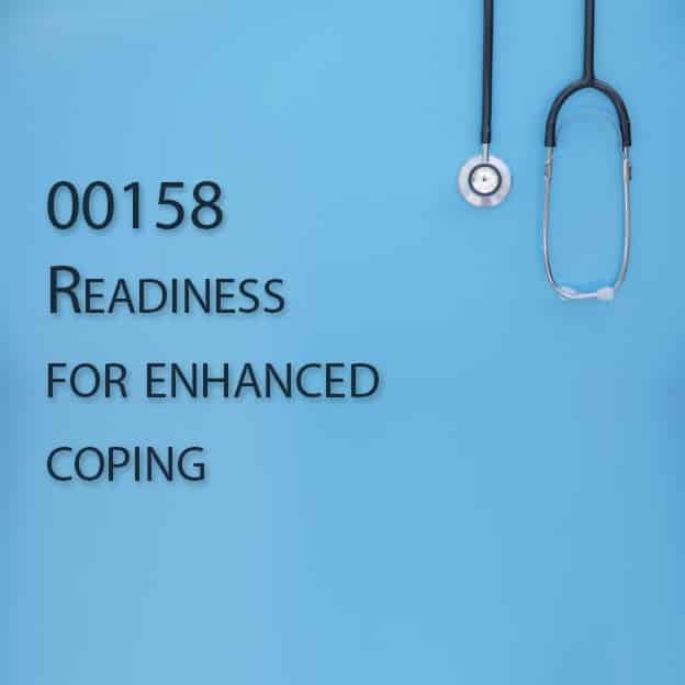 00158 Readiness for enhanced coping