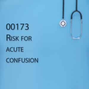 00173 Risk for acute confusion