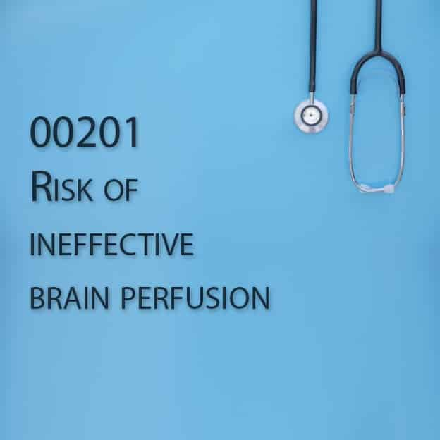 00201 Risk of ineffective brain perfusion