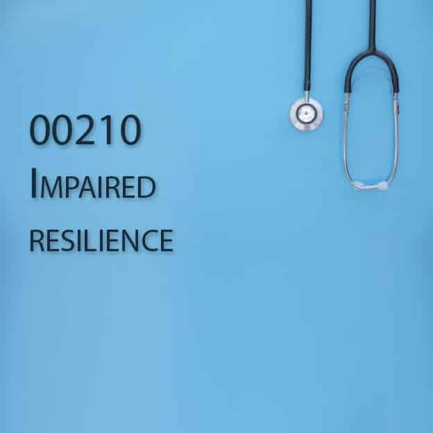 00210 Impaired resilience