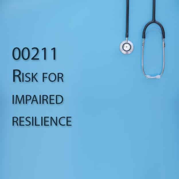 00211 Risk for impaired resilience